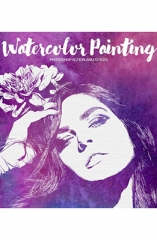 Watercolor Painting Photoshop Effect