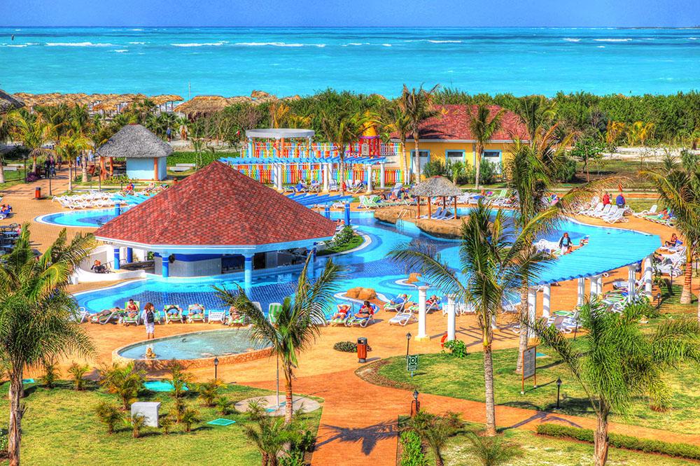 Caribbean Resort - Stock Photo