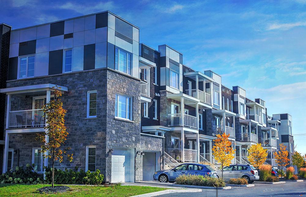 Chic Condominium - Stock Photo