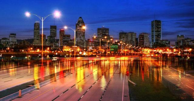 Montreal City Urban Montage 04