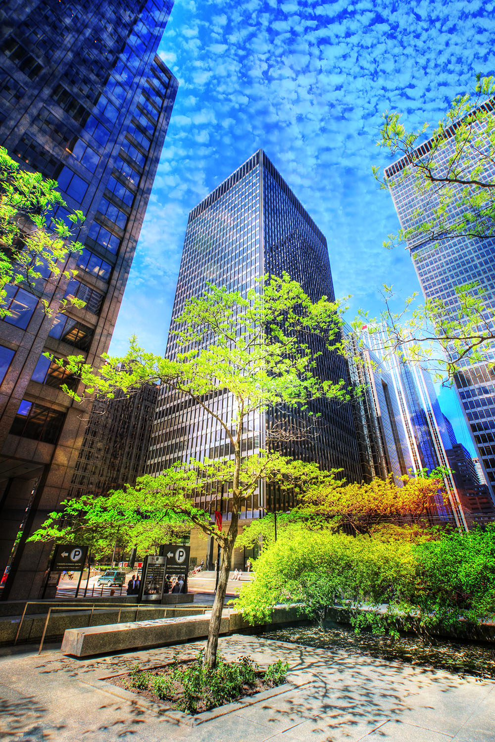 Office District - Stock Photo