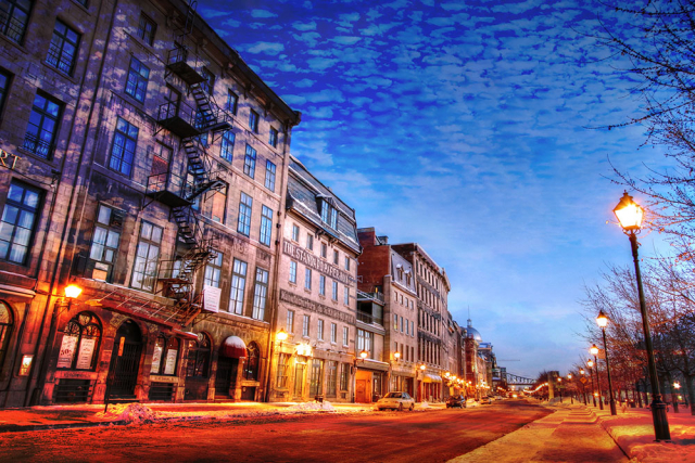 Old Montreal City 01 - Stock Photo