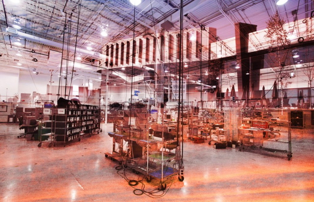 Industry Inside 2 - Stock Photo