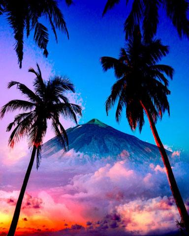 Beautiful Caribbean Paradise 01 - Stock Photo