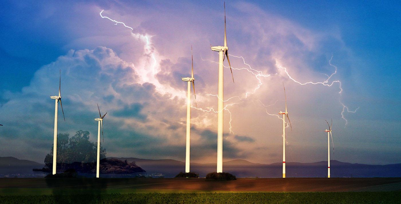 Windmill Energy Production 01 - Stock Photo